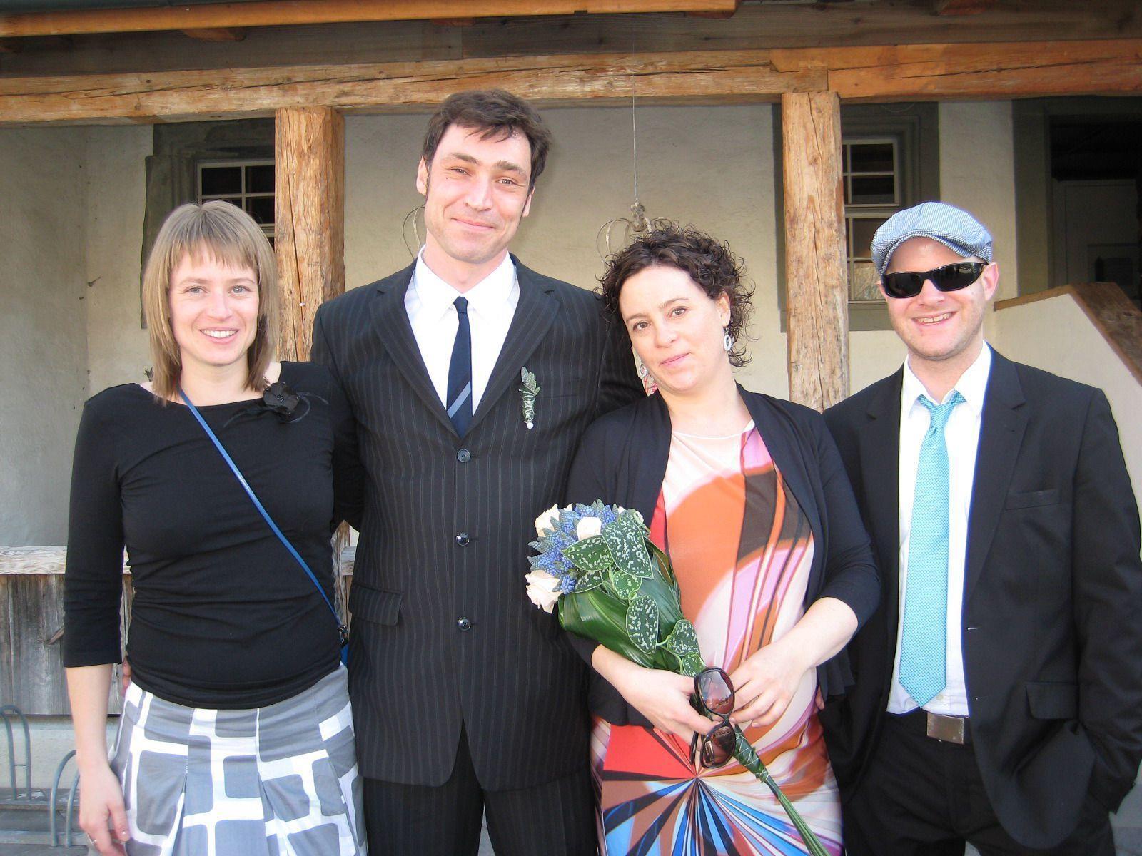 Svenja Maria und Marco Achilles haben geheiratet.