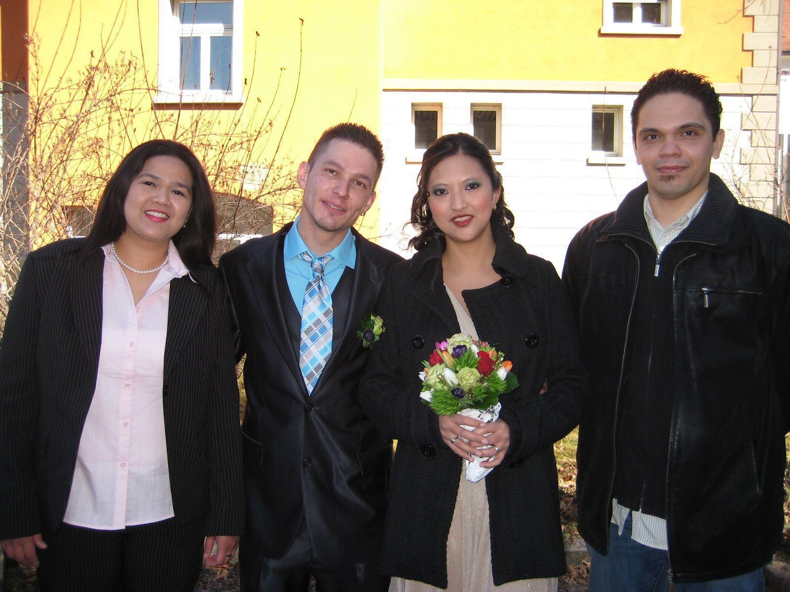 Blugenn Rivera und Patrick Wudler haben geheiratet.
