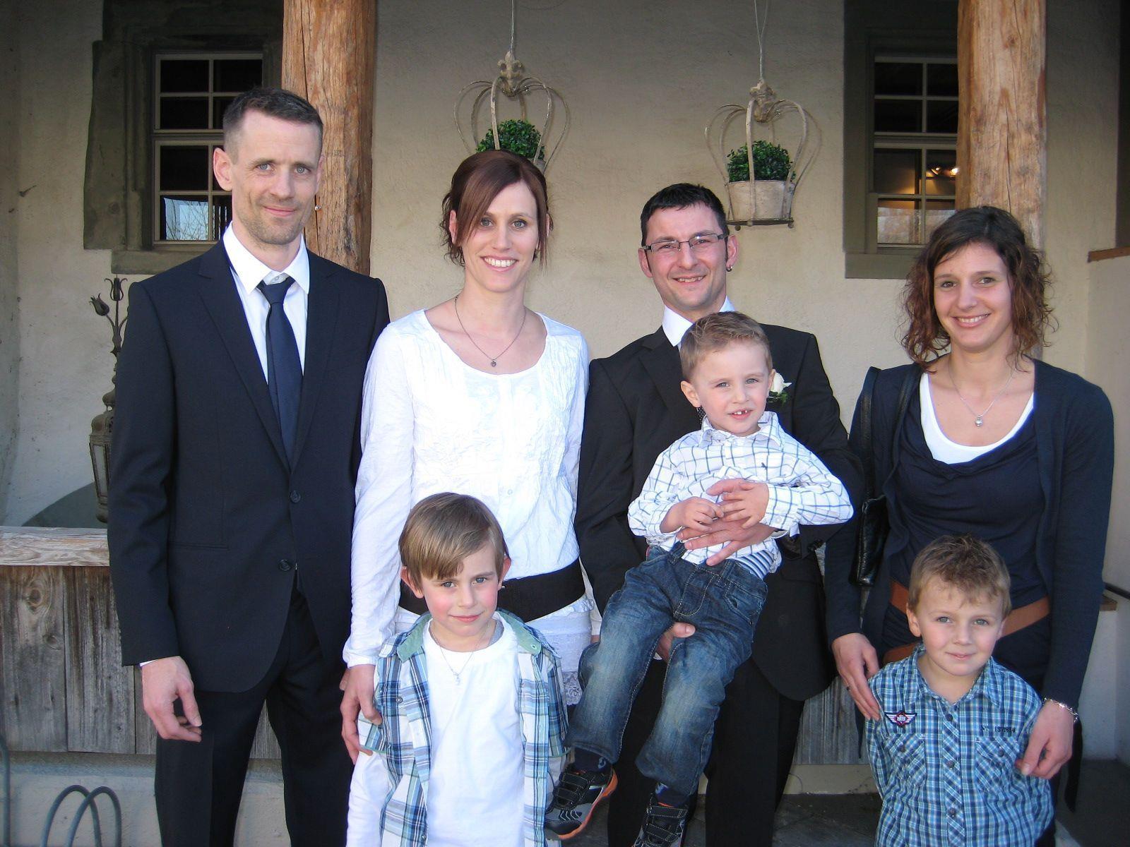 Daniela Büsel und Mike Pöder haben geheiratet.