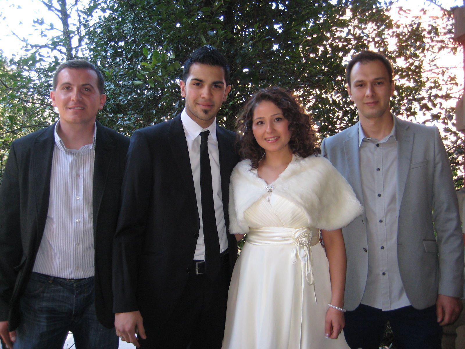 Hülya Öztürk und Cihan Karakoc haben geheiratet.