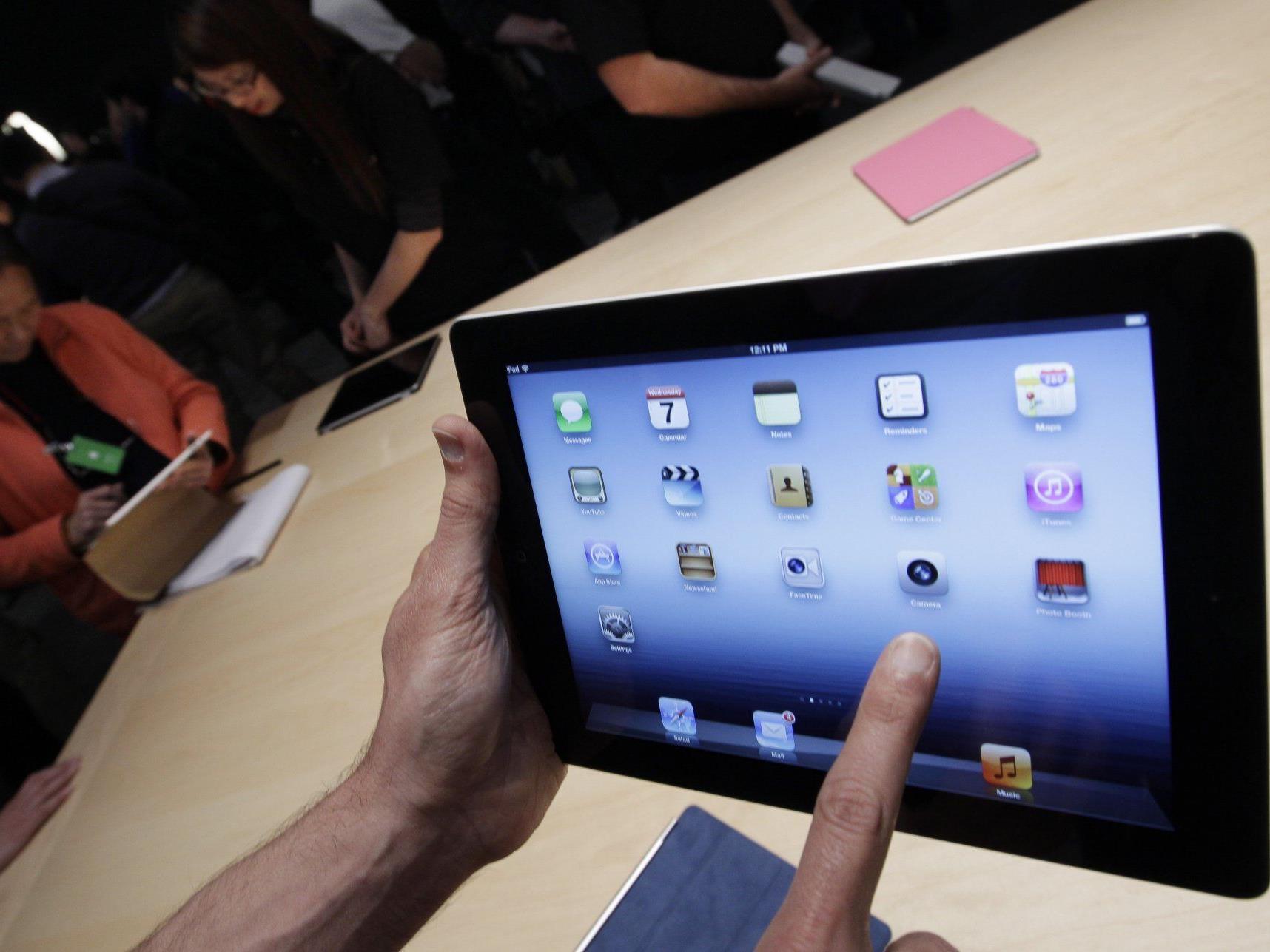 """Nach der Präsentation des """"neuen iPad"""" hat Apple beschlossen erstmals seit 1995 eine Dividende zu zahlen."""
