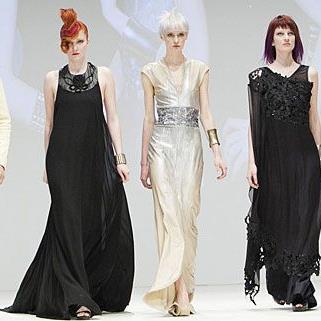 So glamourös präsentierten sich die Models bei der Austria Hair 2012