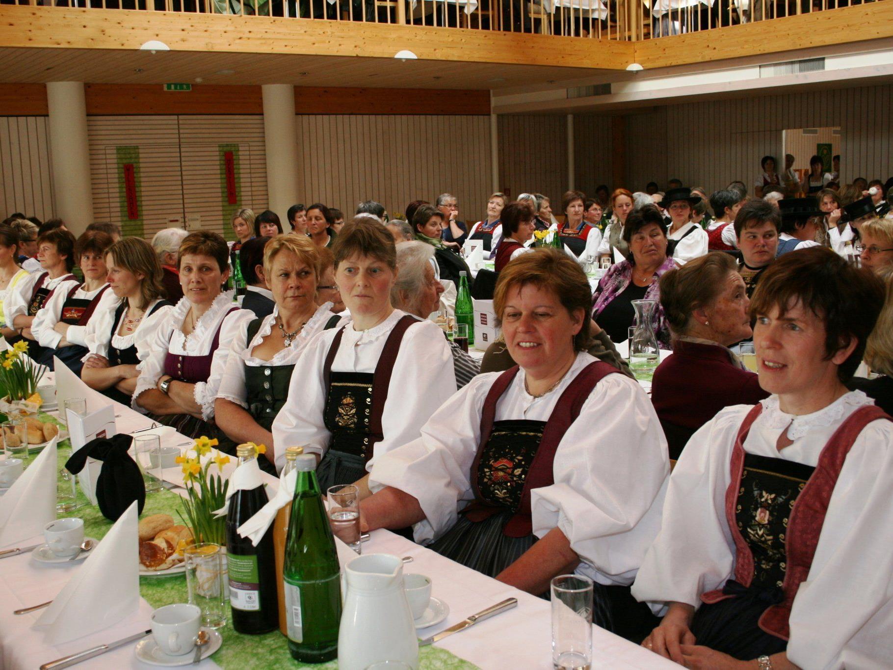 Der Bäuerinnentag in Hittisau war gut besucht.