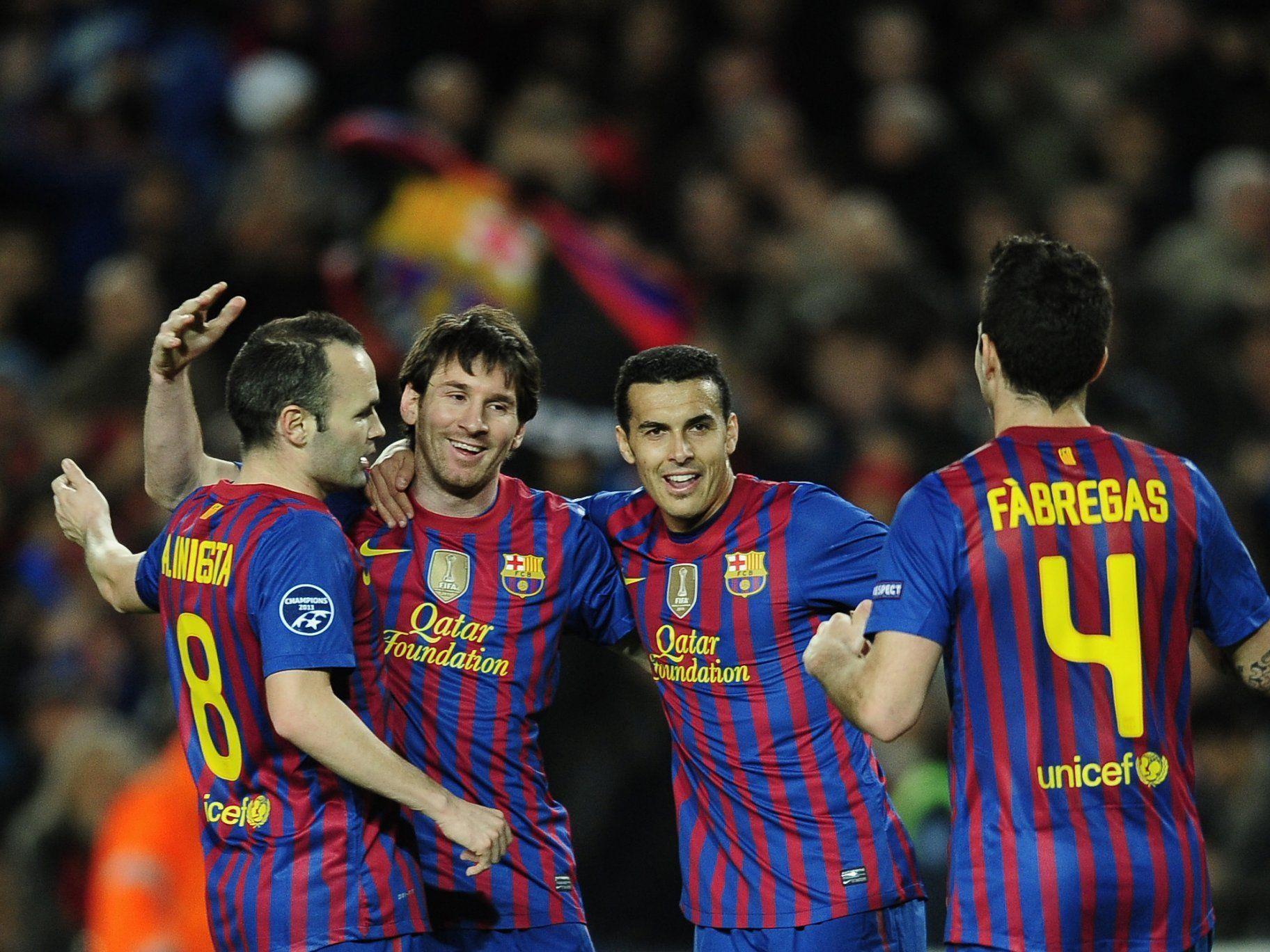 Barcelona gab beim 7:1-Sieg Bayer Leverkusen keine Chance.