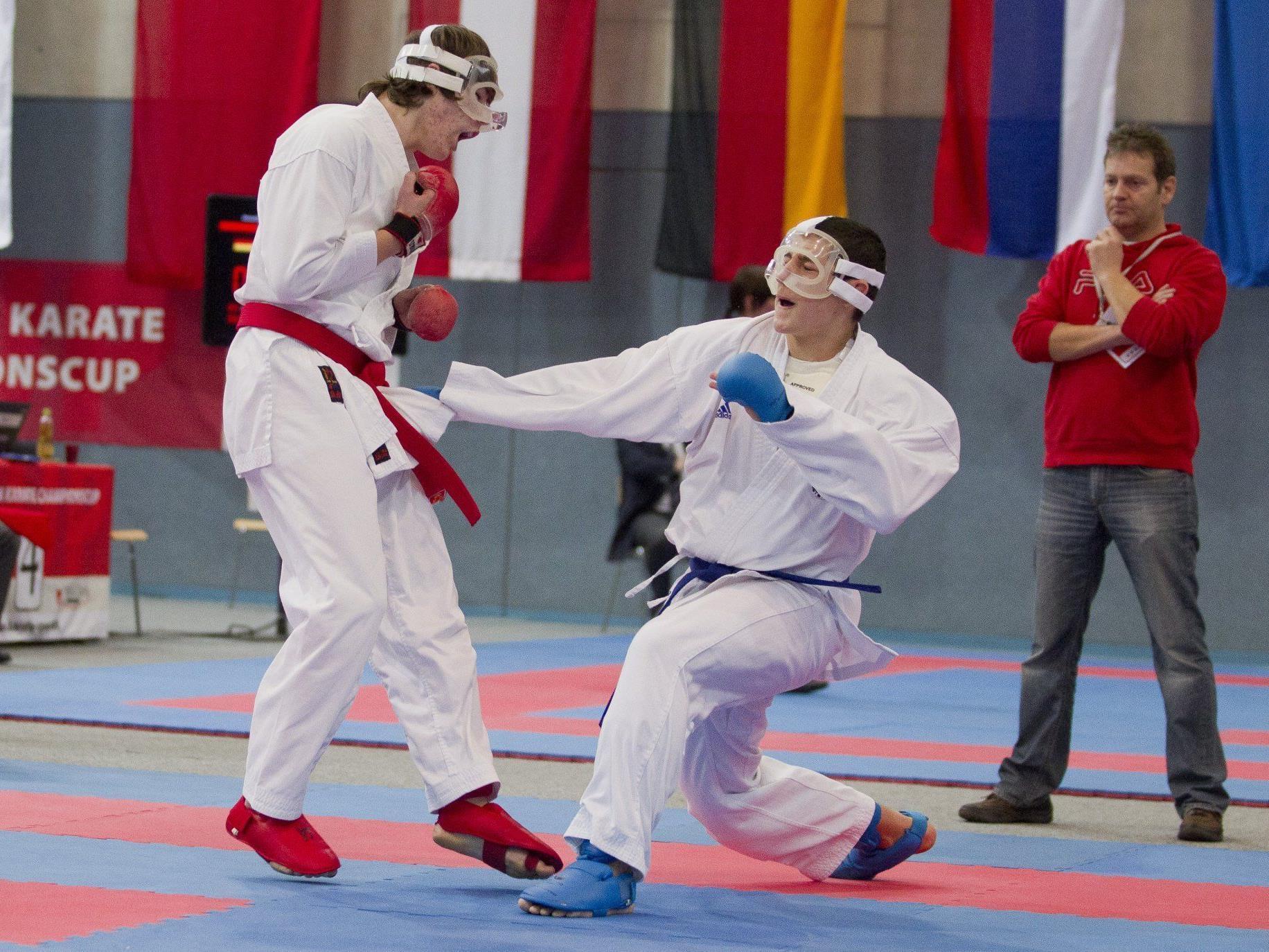 Topleistungen der heimischen Karatesportler beim Niki Cup in Höchst.