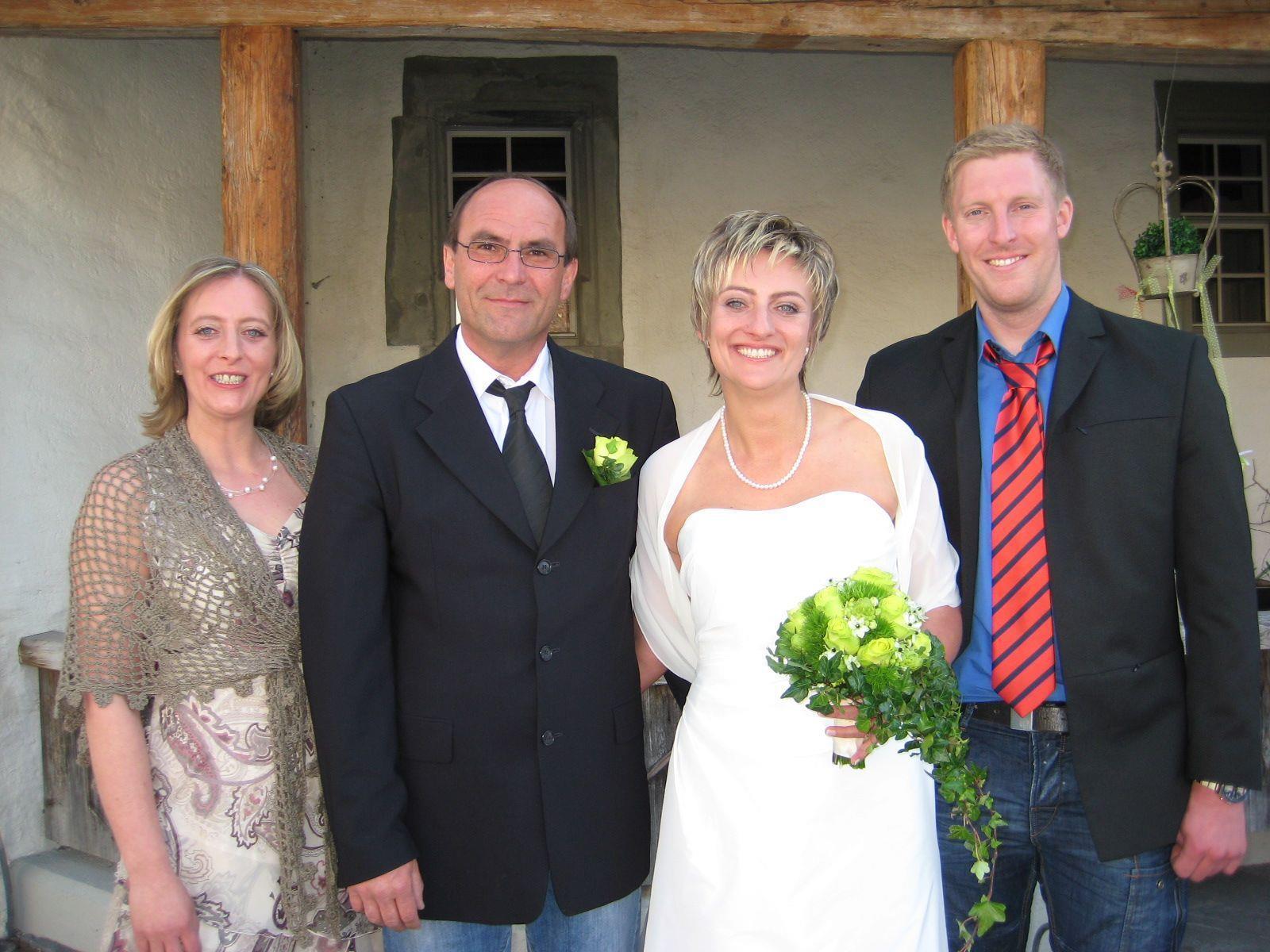 Sandra Mayer und Christian Zauner haben geheiratet.