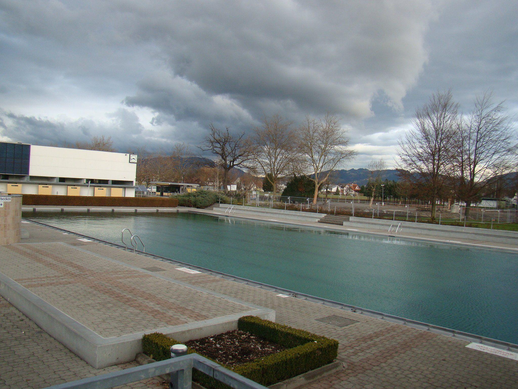 Das Parkbad Lustenau.