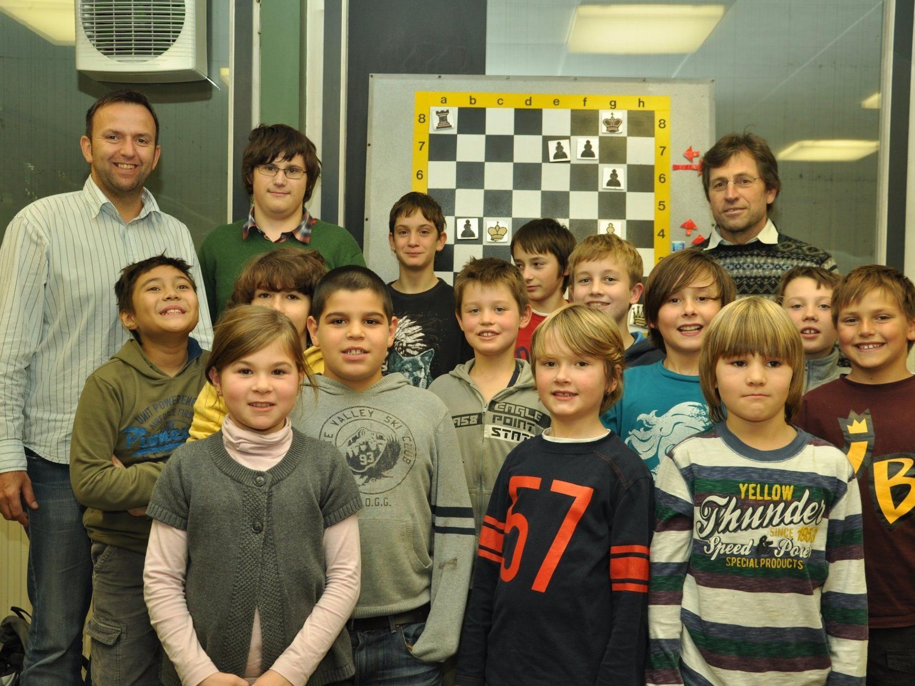 Die Jugend spielt erfolgreich beim Wolfurter Schachclub.