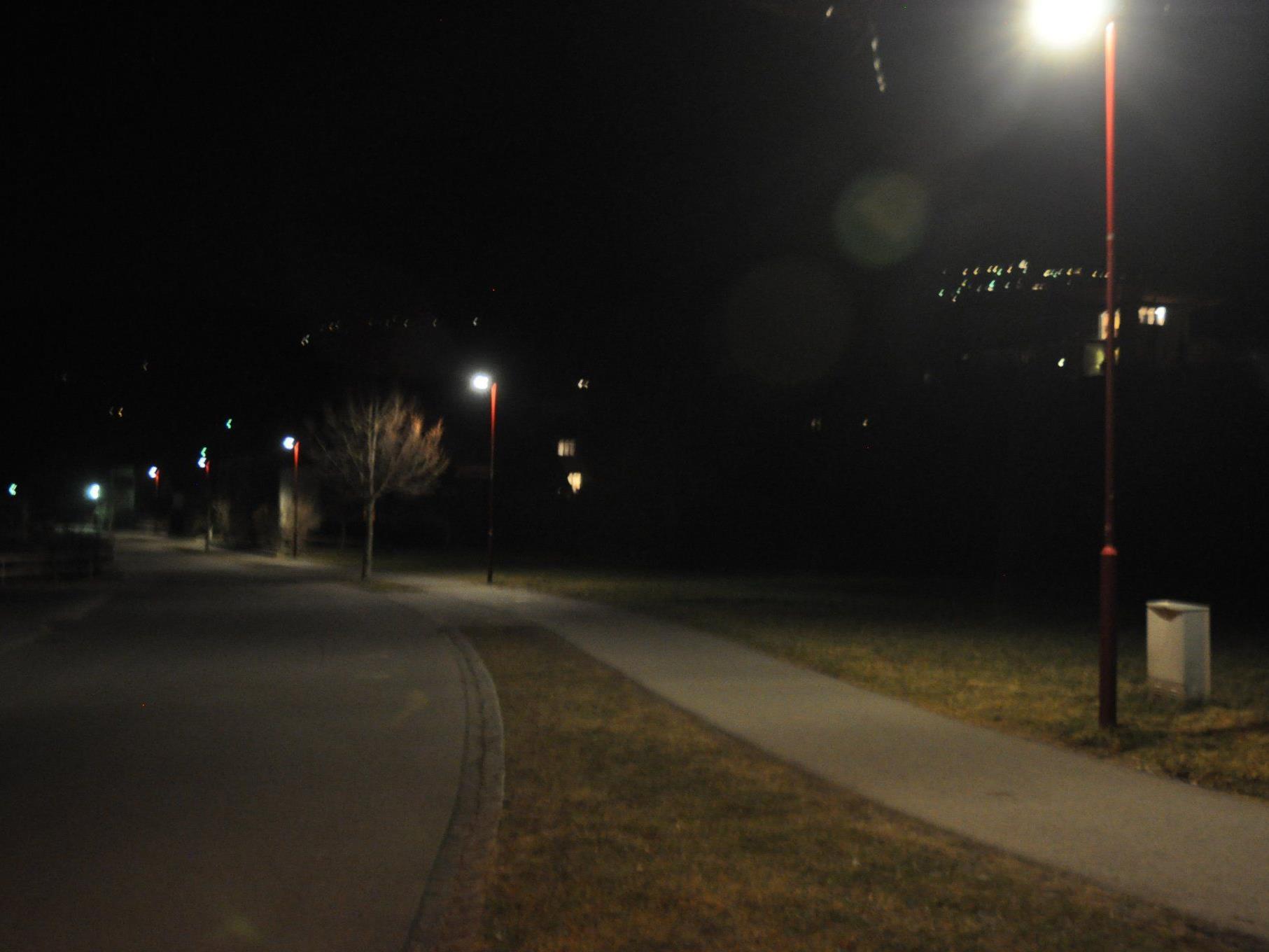 Sulz testet energiesparende Straßenbeleuchtung
