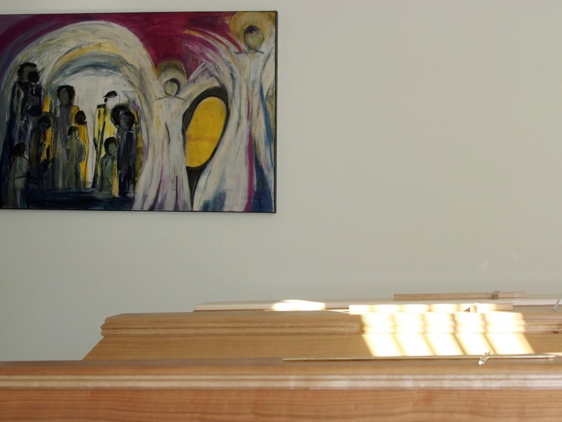 Über professionelle Trauerarbeit wird in der Walserbibliothek St. Gerold informiert.