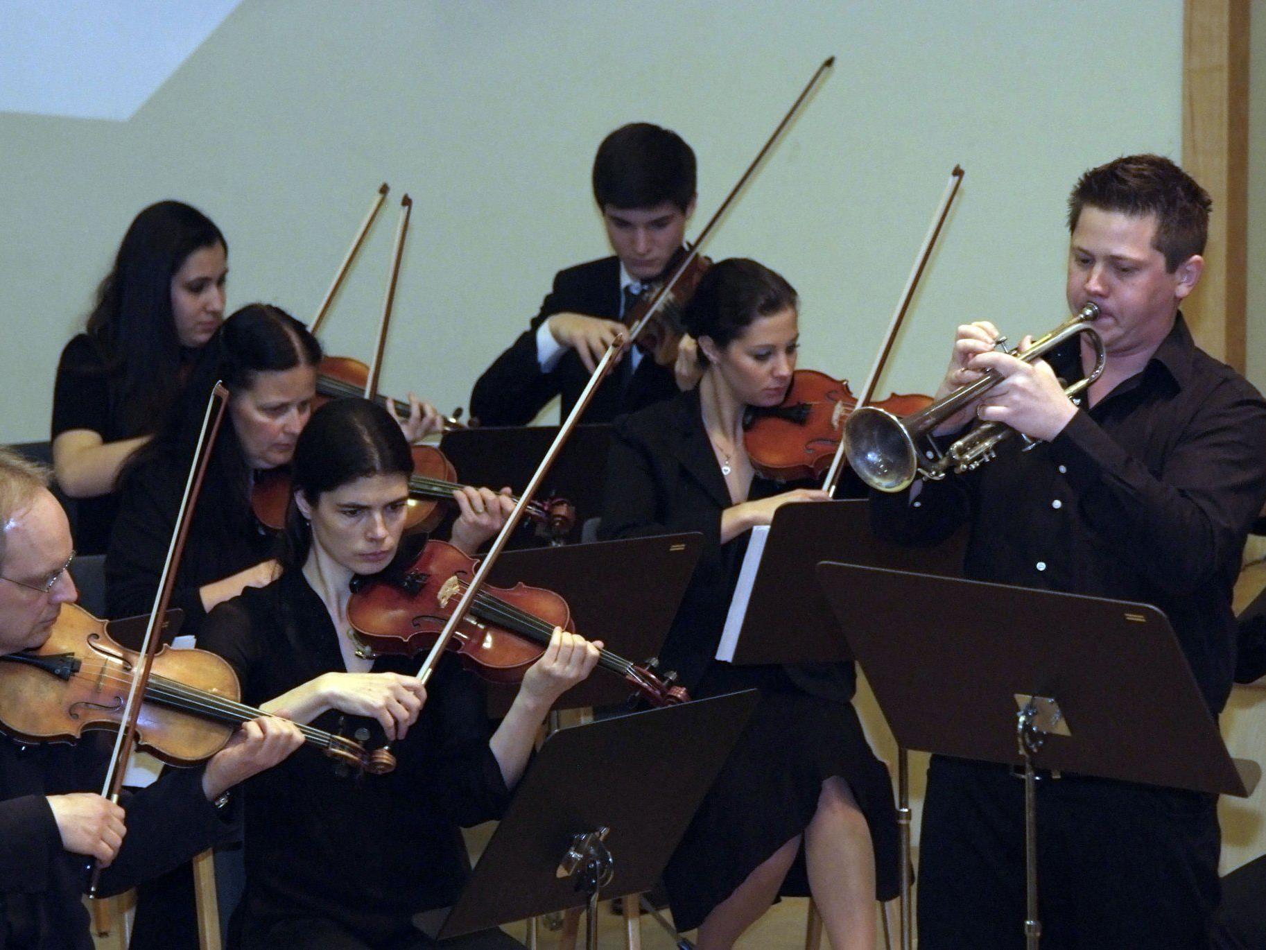 Rochè Jenny überzeugte mit seiner soliden Leistung beim Neruda-Trompetenkonzert.
