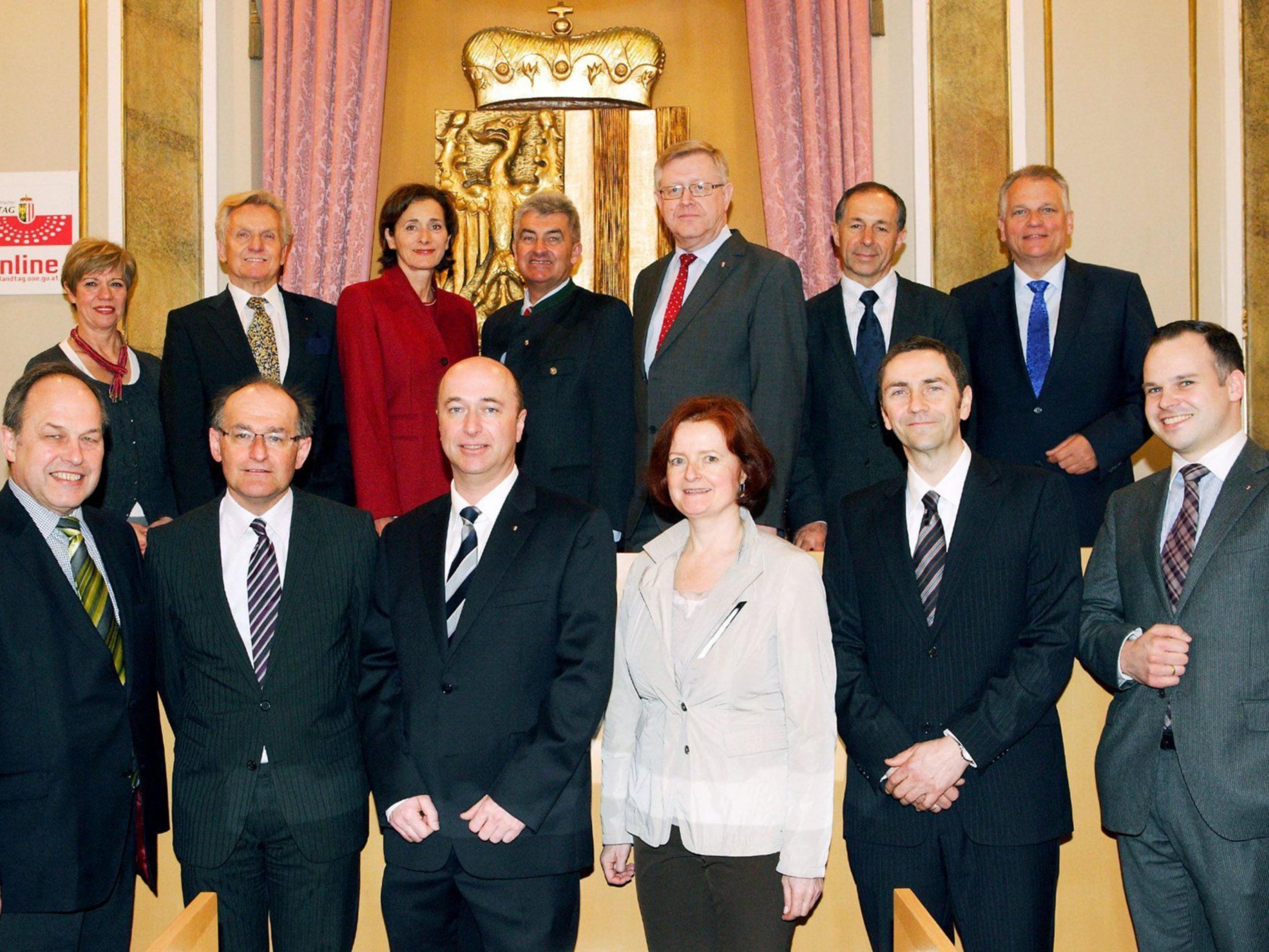 Teilnehmer der Föderalismus-Konferenz in Linz.