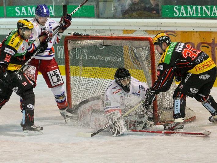 Die VEU Feldkirch konnte das Saisonende vorerst abwenden