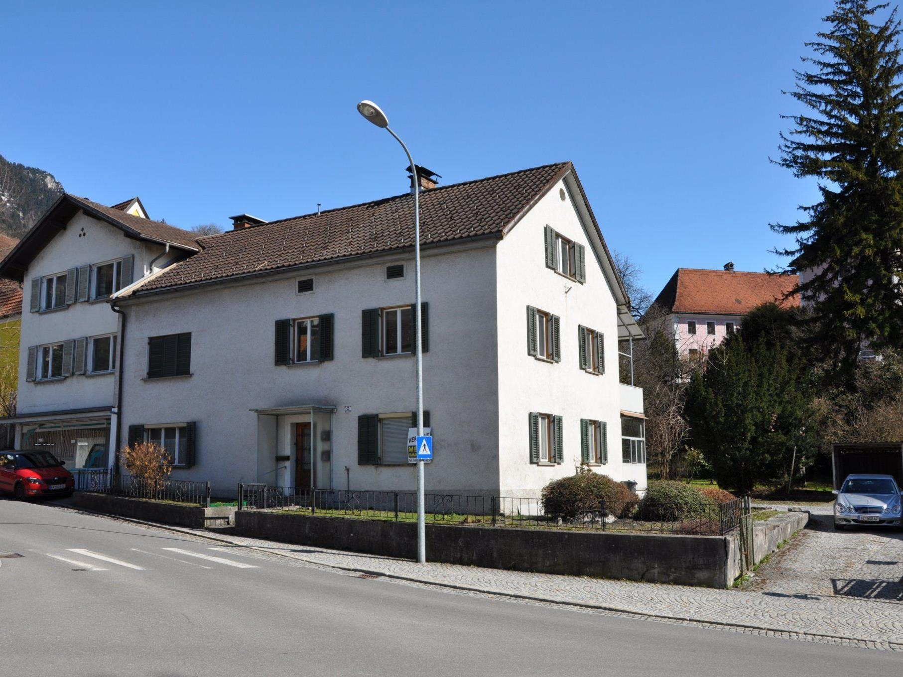 Haus und Grundstück Spitalgasse 2 und 2a werden von der Stadt Bludenz angekauft.