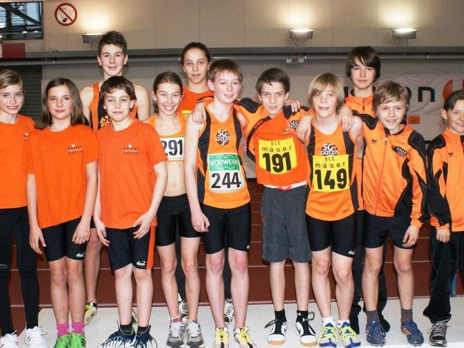 Die Leichtathletik-Kids der LA-Hochburg-Götzis lassen einiges für die Zukunft erwarten.