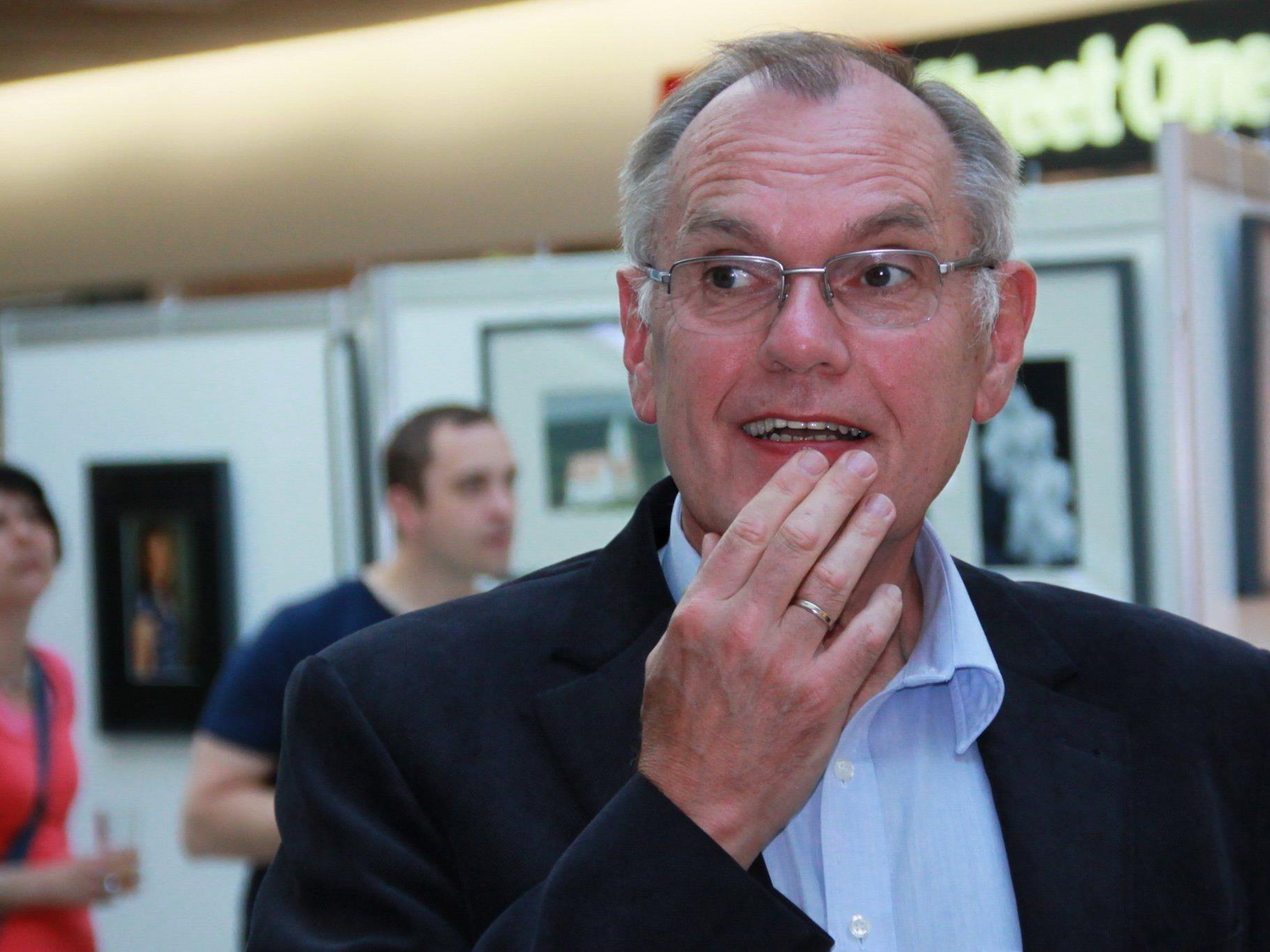 Alt-Bürgermeister Hans Kohler hat die Fotografie als großes Hobby gewonnen.