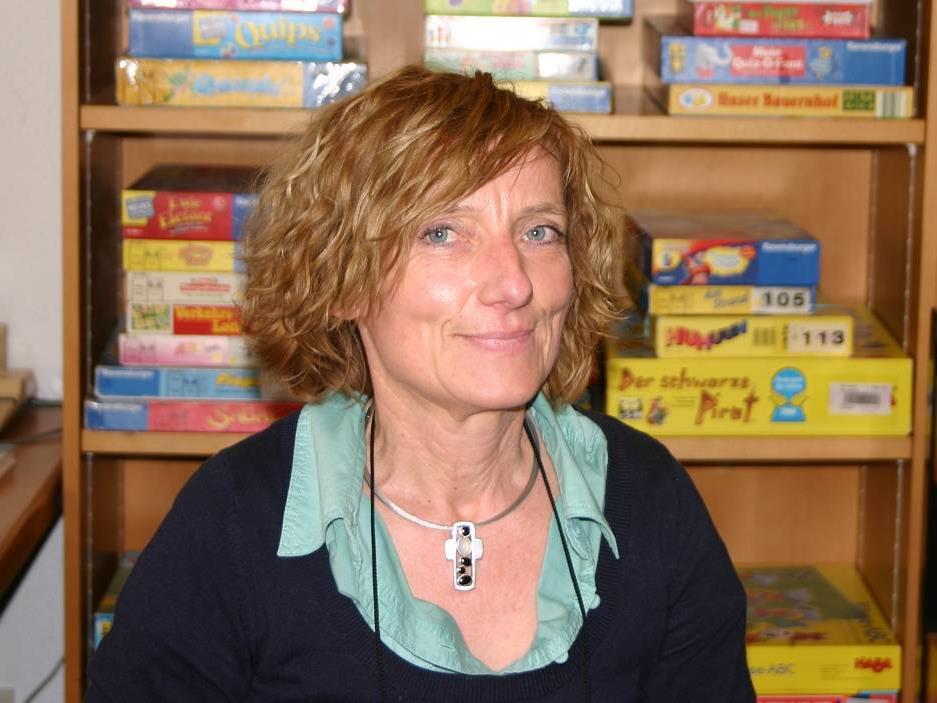 Maria Berloffa, Leiterin der Bibliothek Rankweil