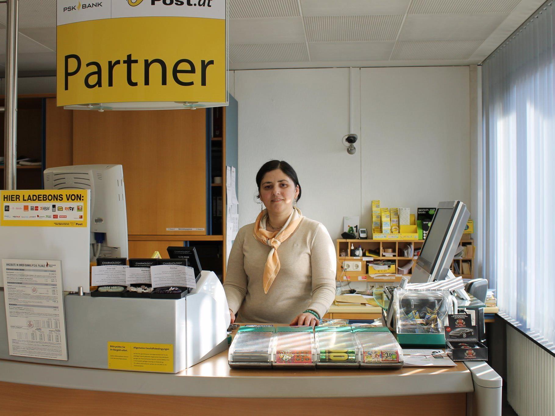 Gordana Sikarac übernimmt PostPartner Filiale in Gisingen.