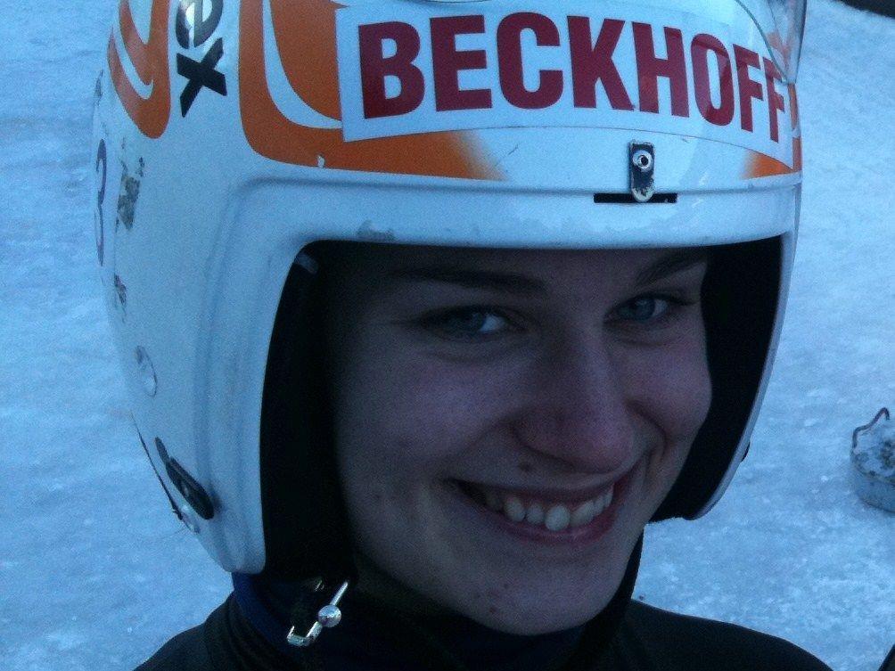 Katrin Heinzelmaier beeindruckte mit ihrem klaren Sieg.
