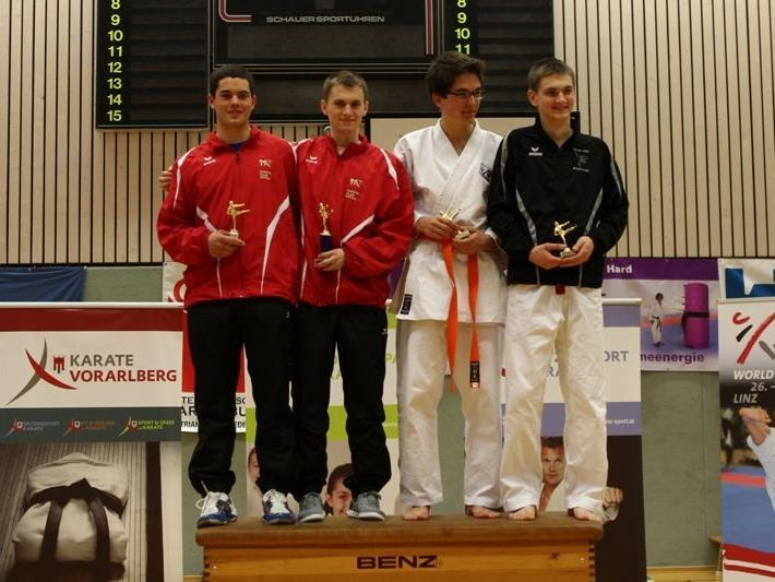 Jan Fleisch und Christoph Obermaier. Die Gewinner der Klasse U21.