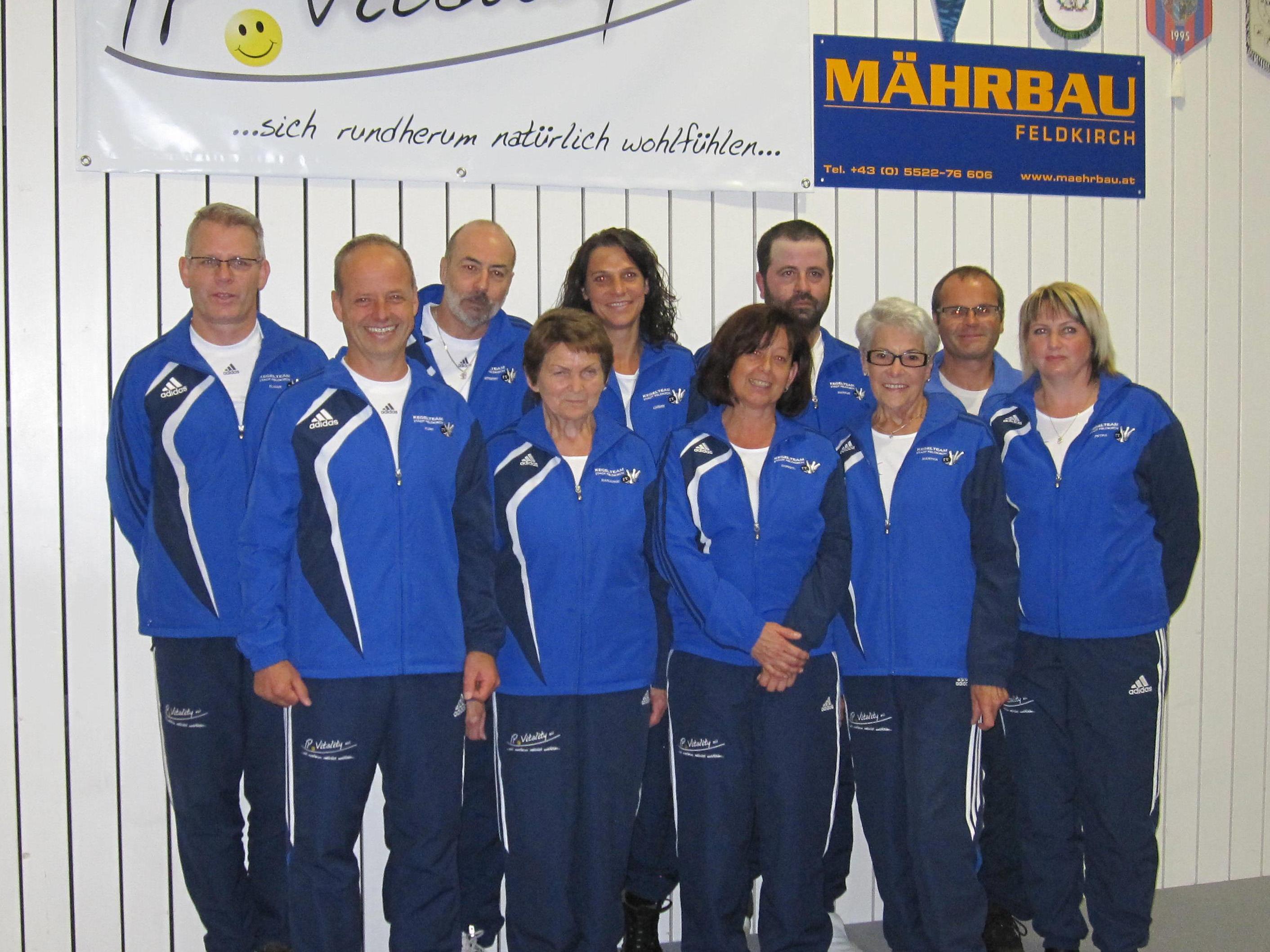Holt sich Mannschafts-Meistertitel: KT Stadt Feldkirch 3 !