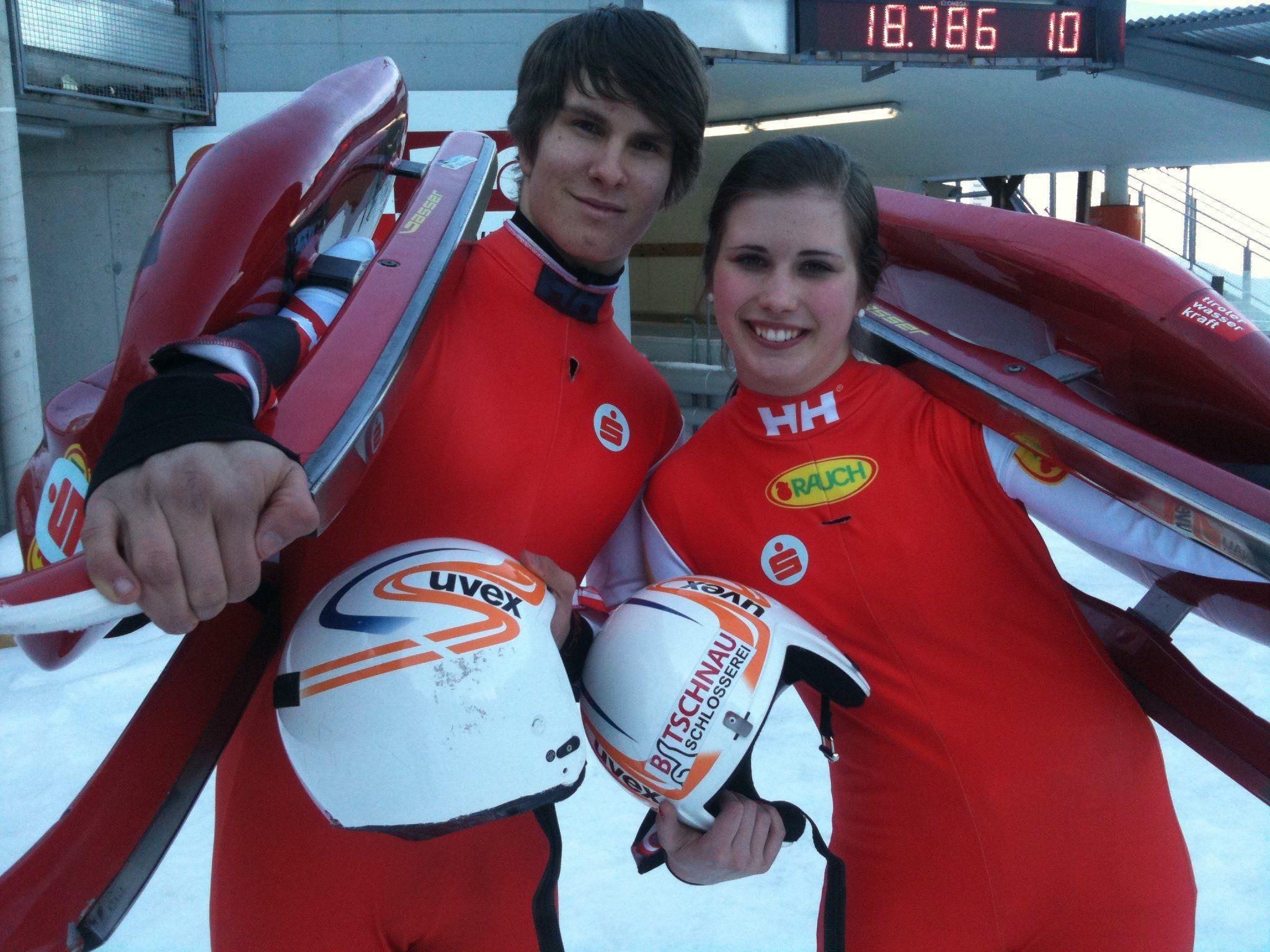 Erfolgreiche Titelverteidigung durch Thomas Steu und Melina Heinzelmaier.