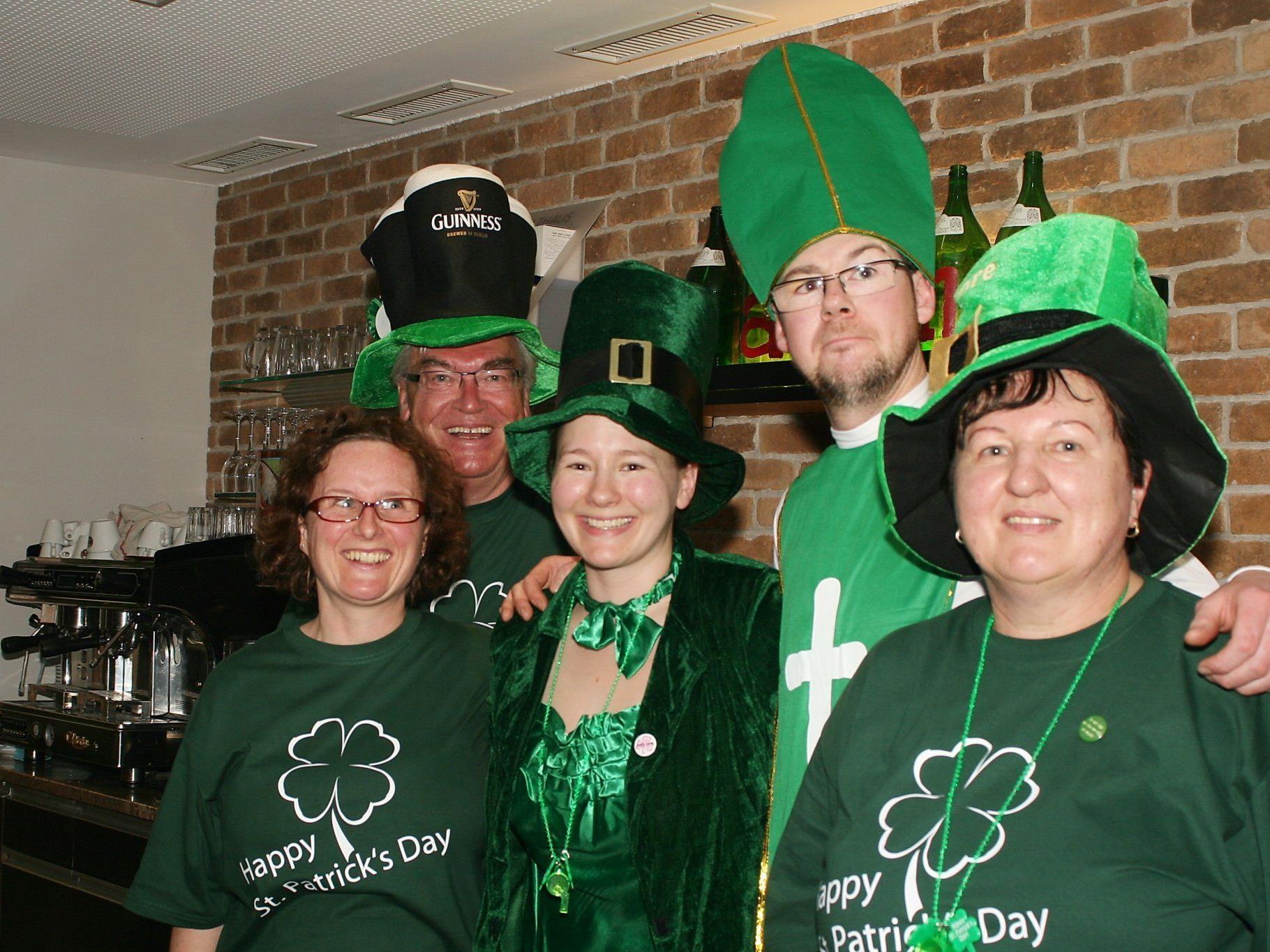 """Das """"Zalanz"""" freut sich auf den St. Patricks Day"""