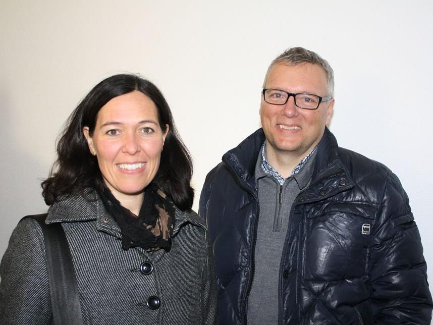 Die Referenten: Hubert und Marga Knauseder