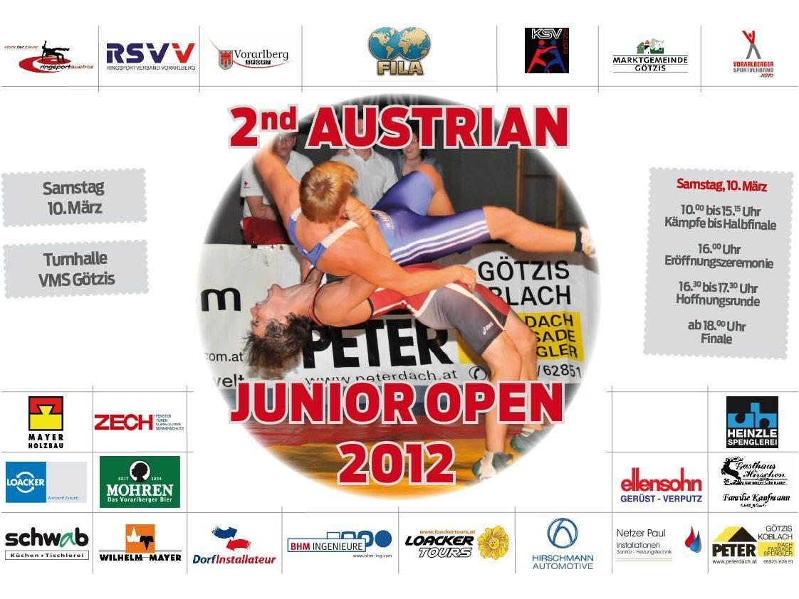 Junior Open 2012