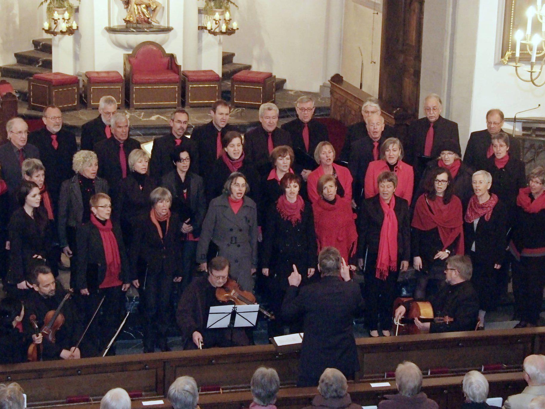 Die Kantorei Rankweil machte den Auftakt zur Basilika-Konzertreihe 2012.