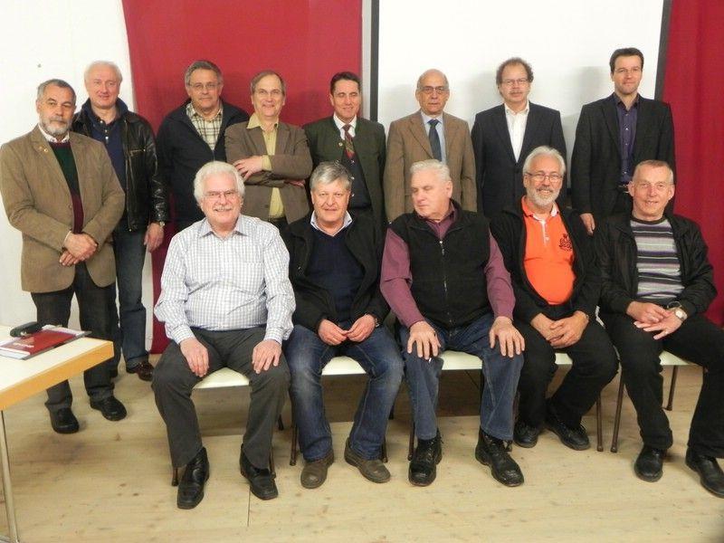 Vorstand und Beirat der Vorarlberger Museumswelt