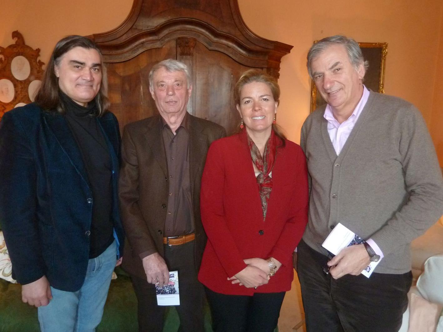 Programmvorstellung: Robert Bokor, Josef Kloiber, Stephanie Waldburg-Zeil und Irakli Gogibedaschwili