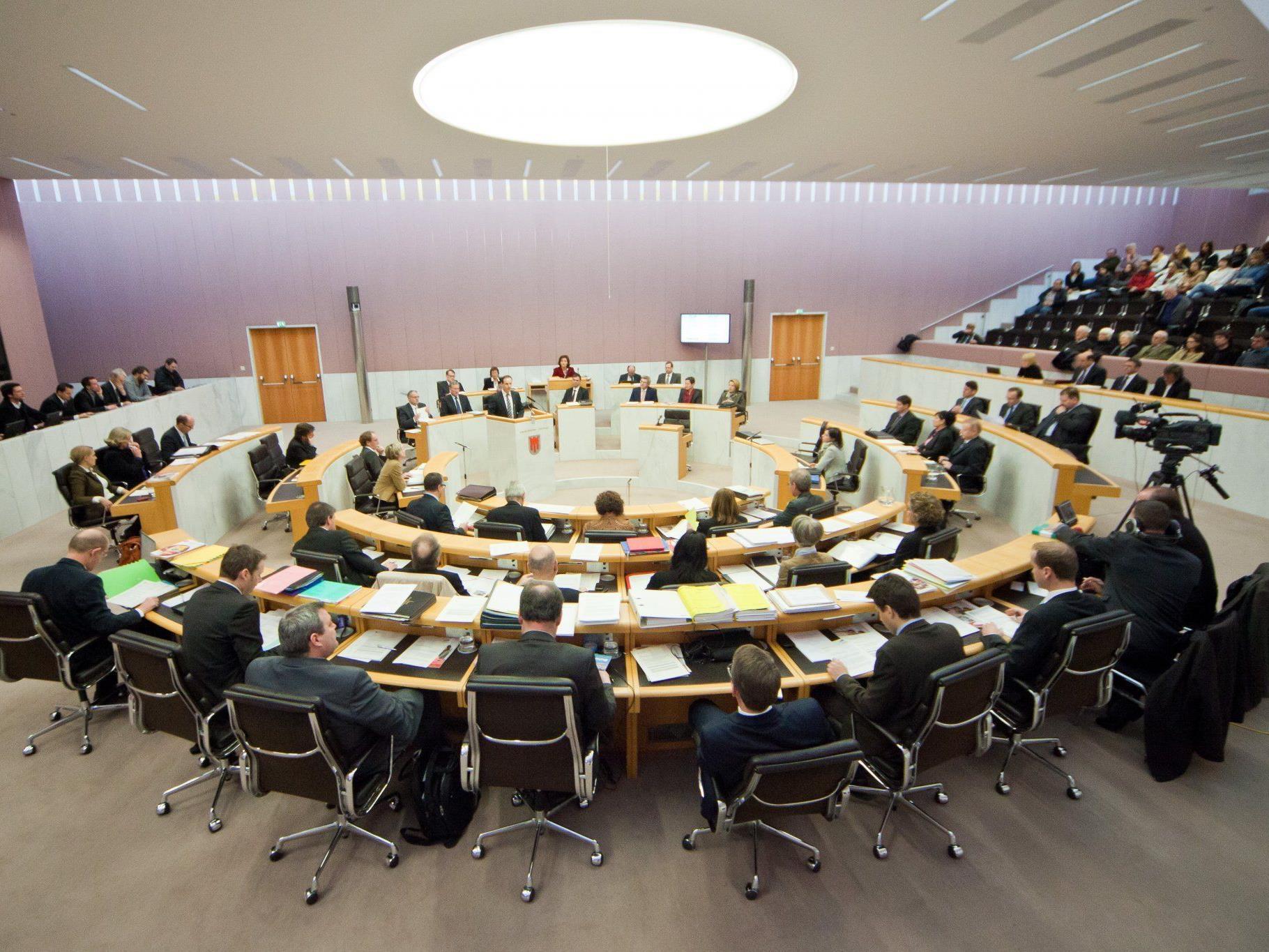 Der Vorarlberger LAndtag könnte schon bald weniger als 36 Abgeordnete haben.