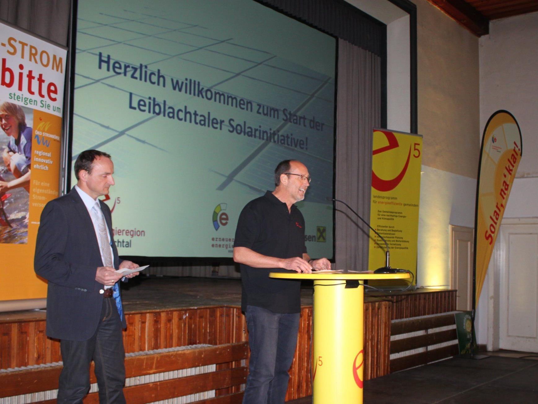 Energieregion Leiblachtal startet energieautonome Solarinitiative mit Bürgerbeteiligung.