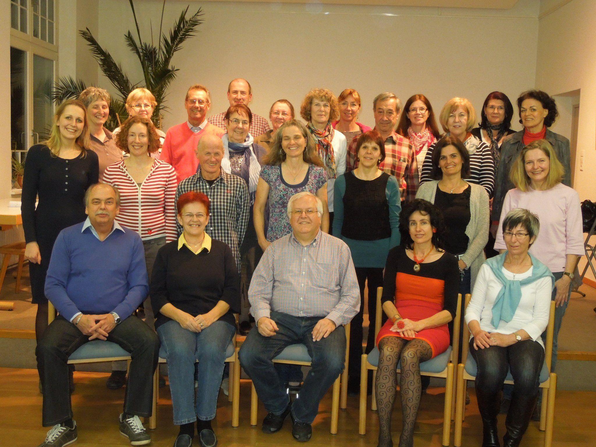 2012 steht ganz im Zeichen der Probe für das kommende Jubiläumskonzert in der Erlöserkirche.