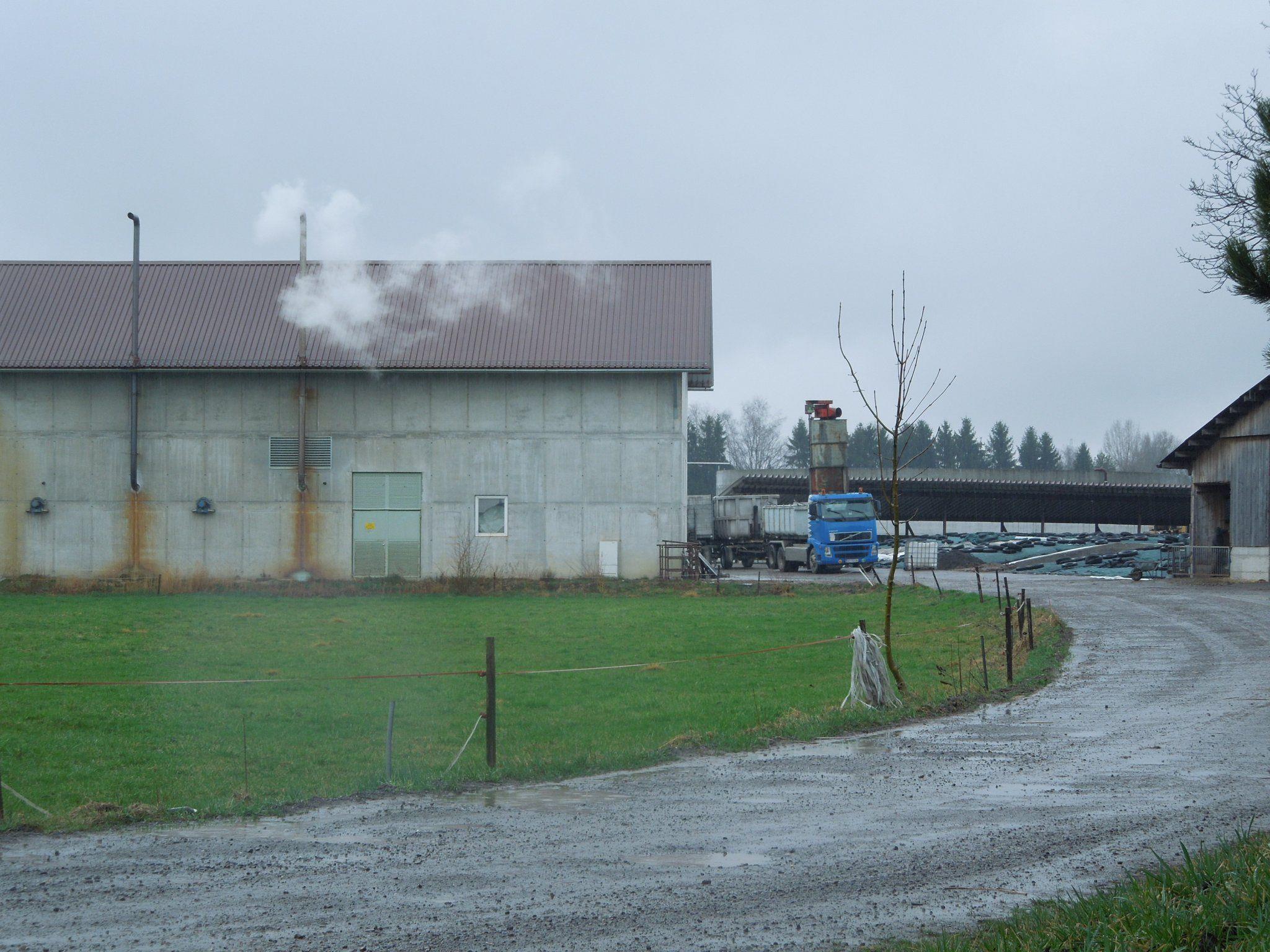 """Die Biogasanlage auf dem Hof """"König"""" soll noch durch eine Hygienisierungsanlage erweitert werden."""