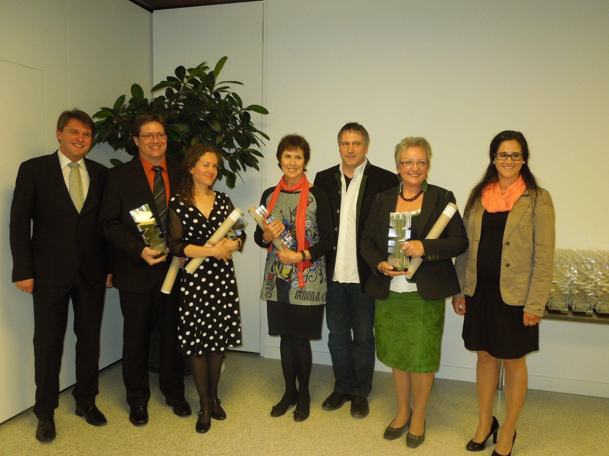 Lustenau dankte erstmalig engagierten Vereinsfunktionären mit dem neuen Ehrenzeichen.