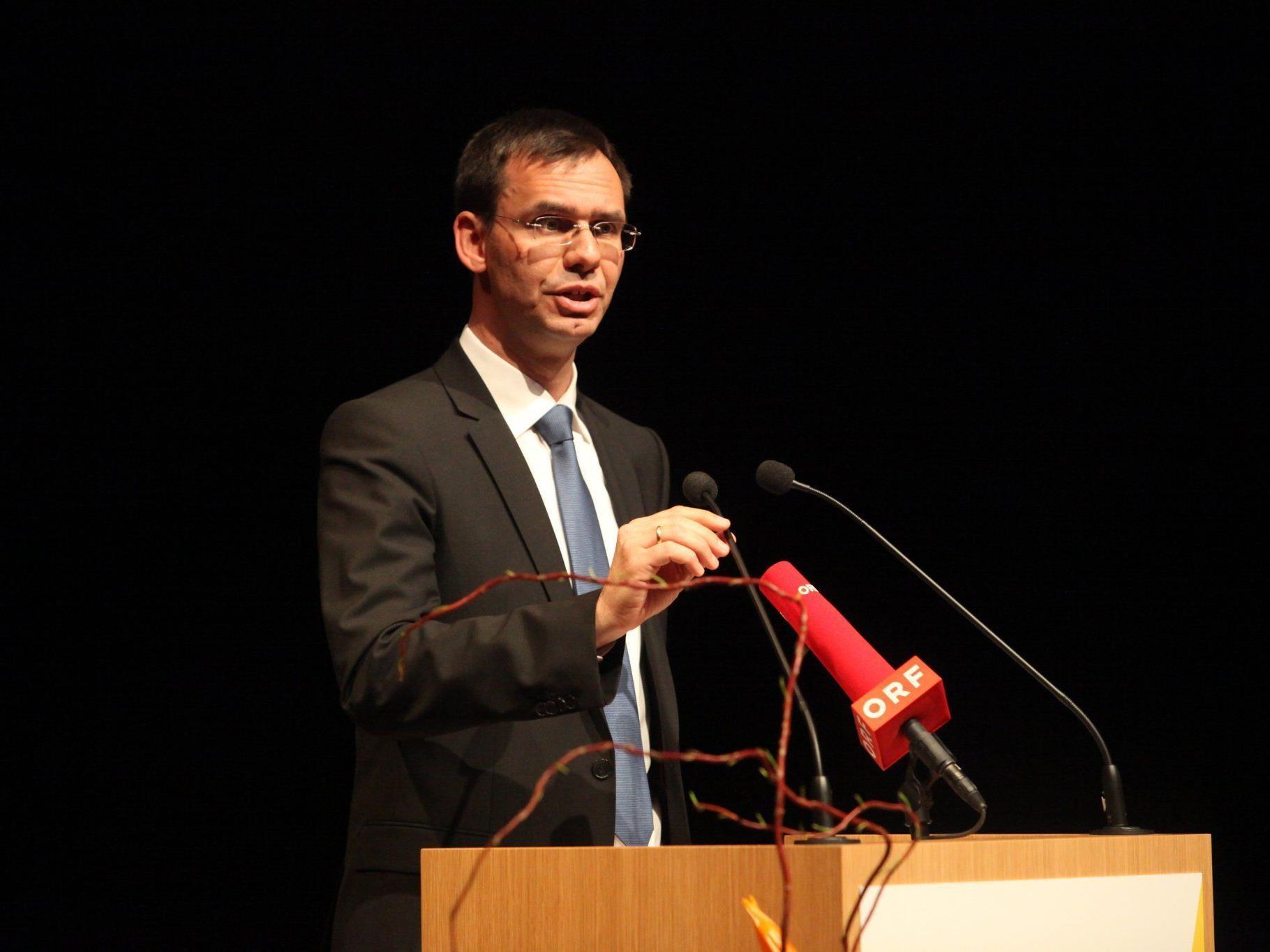 Landeshauptmann Markus Wallner konkretisiert seine Pläne zur Energiewende.