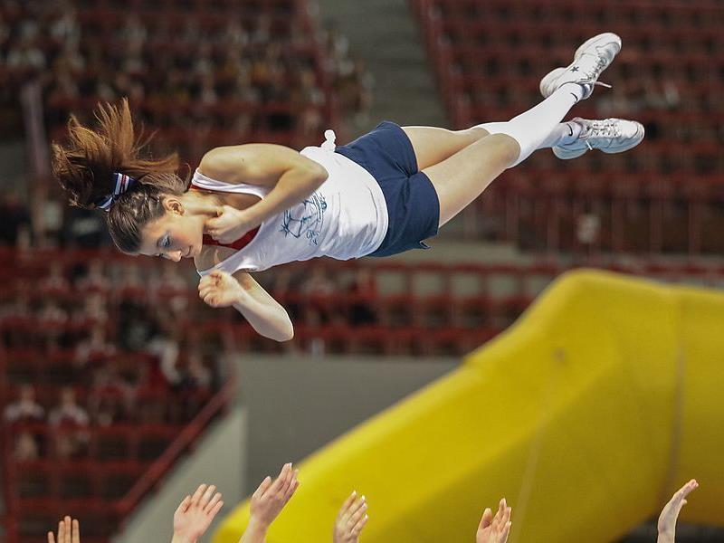 Die Cheerleader Meisterschaft 2012 war ein voller Erfolg.