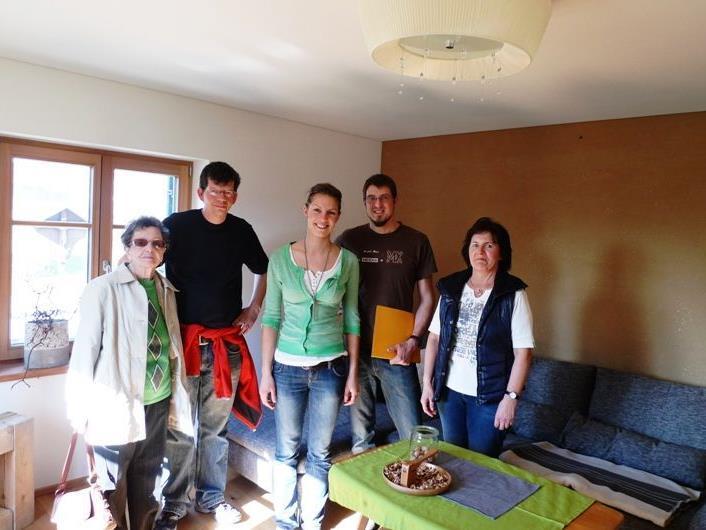Florian Maier und Melanie Gohm öffneten ihre Haustüre für Interessierte Mitbürger.