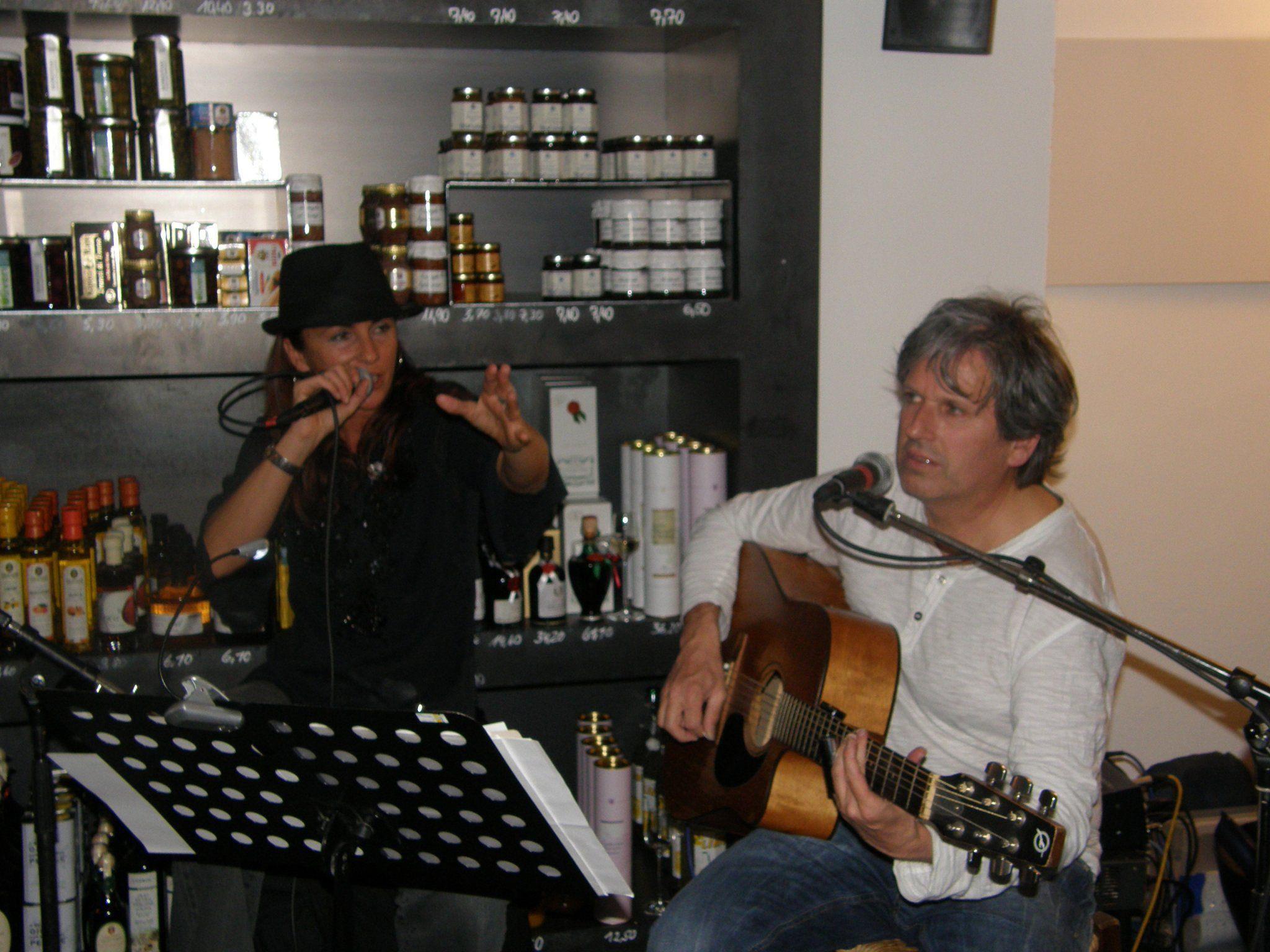 Suzie Lucas und Mark Holzmaier sorgten im Buongustaio für einen unvergesslichen Abend