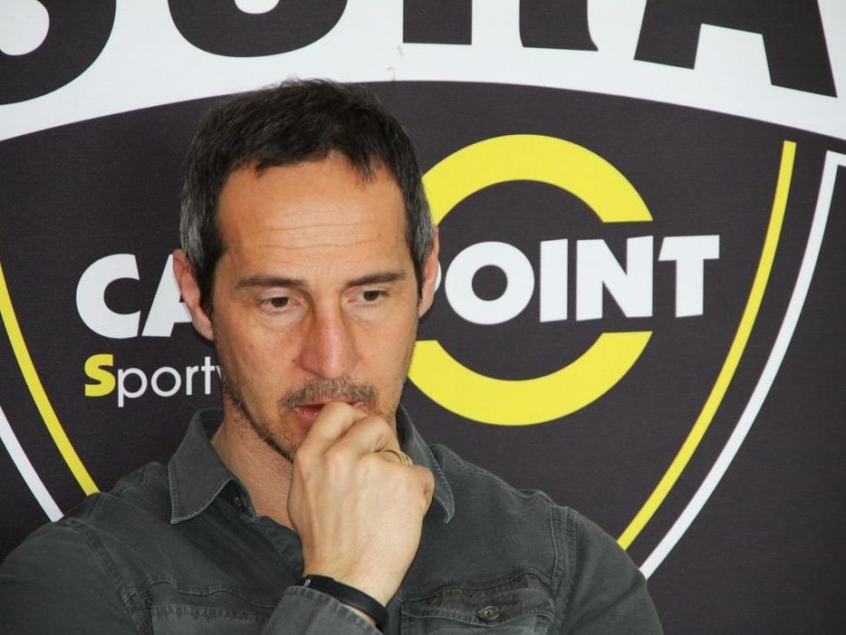 Altach-Trainer Adi Hütter hofft auf den zweiten Sieg 2012.