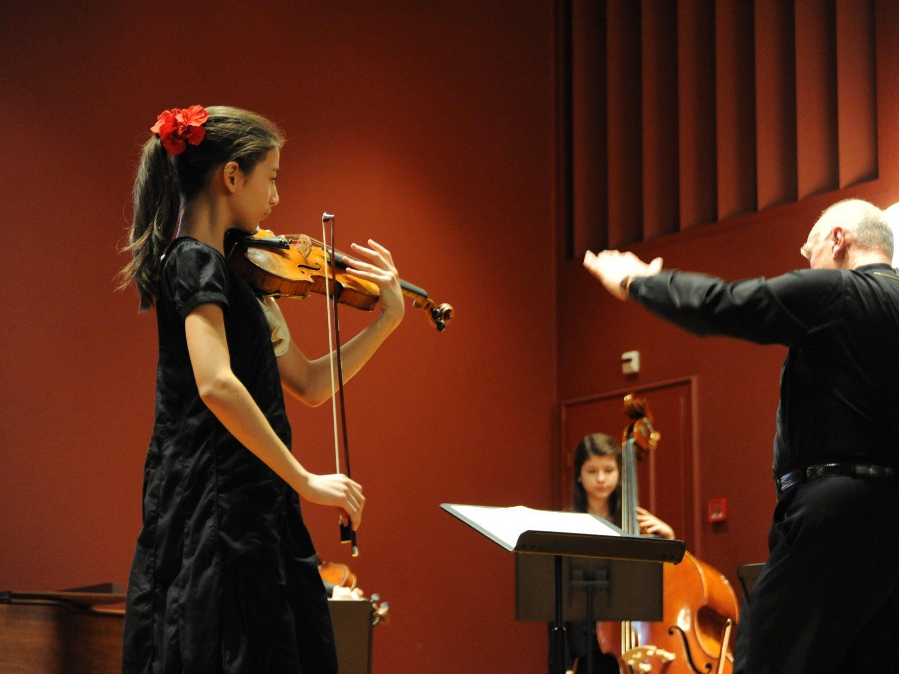 Die zwölfjährige Elisso Gogibedaschwili begeisterte das Publikum.