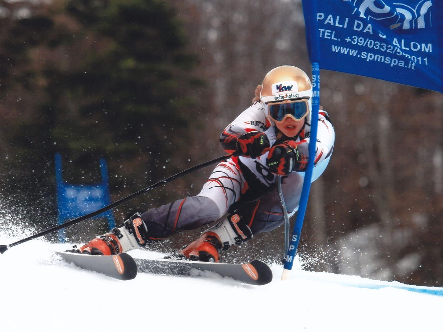 Katharina Liensberger wurde in Italien Siegerin und einmal sensationell Zweite.
