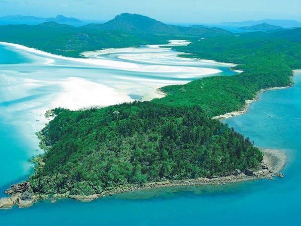 Die Whitsundays - eine Gruppe von 74 meist unbewohnten Inseln