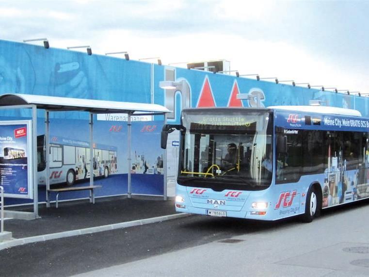 Mit dem SCS Bus gratis nach Vösendorf fahren und gewinnen