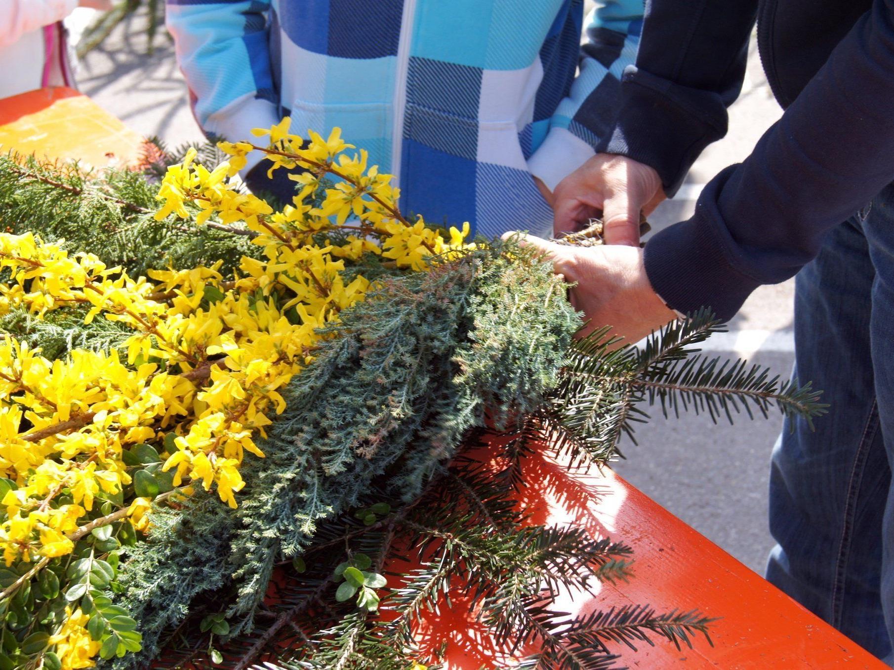Frühlingsblüten für den Palmsonntag