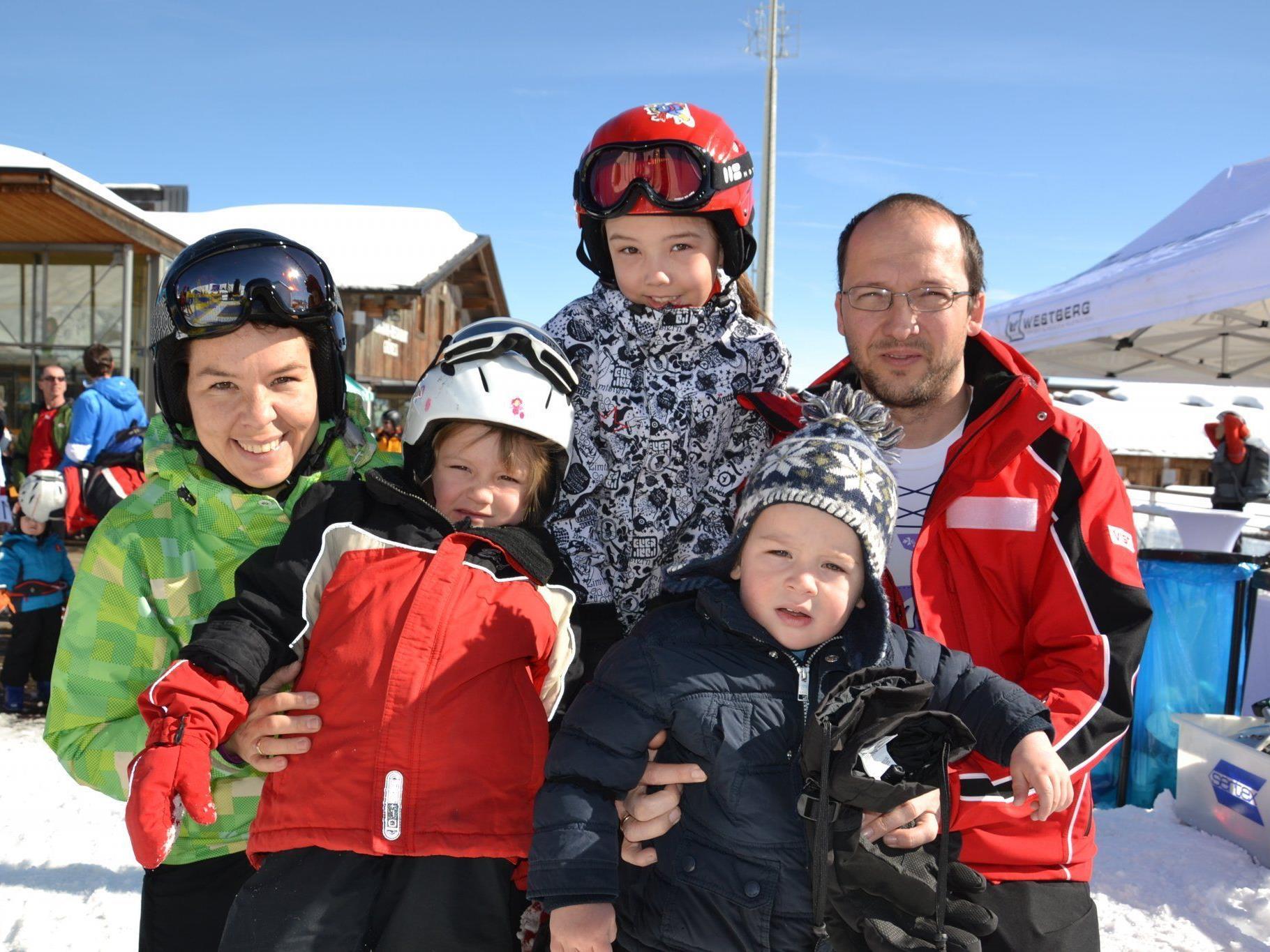 Für Jung und Alt ein spannendes Rennen: Das Diabolo-Skitourenrennen am Golm
