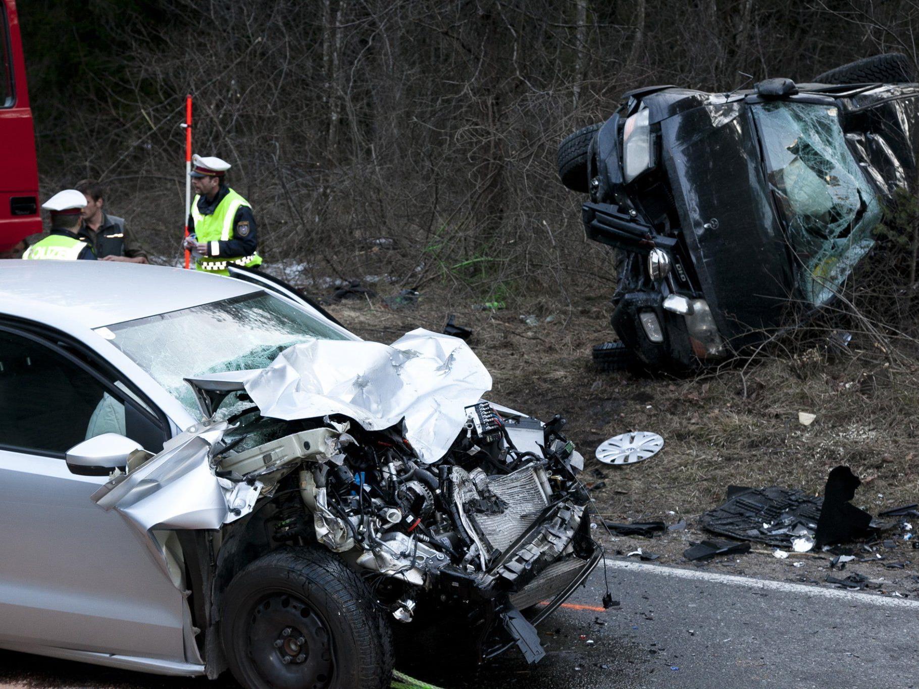 Schwerer Verkehrsunfall in St. Anton im Montafon