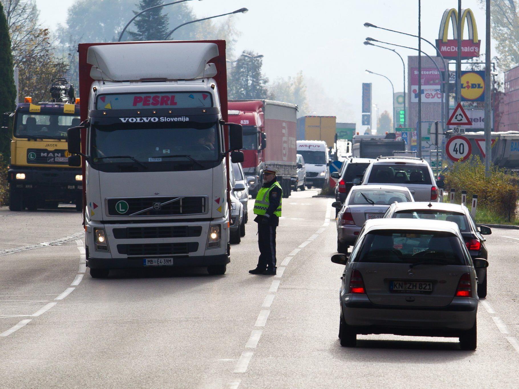 Ärgernis Verkehr: In Lustenau gehen derzeit die Wogen hoch.